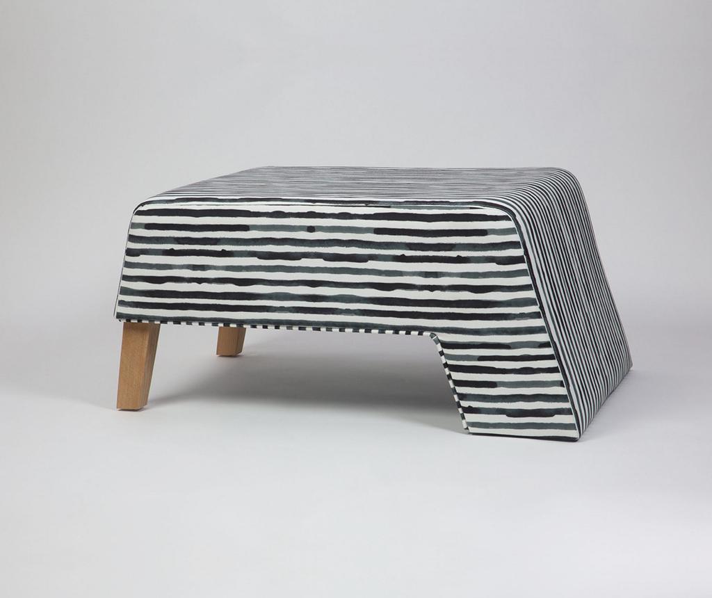Taburet za noge Kate Zebra