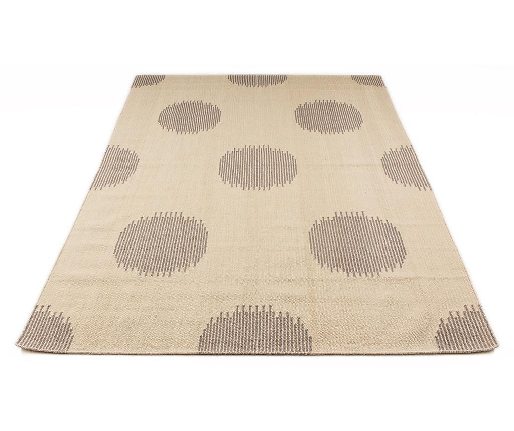 Tepih Bleecker Kilim Oslo Grey 160x230 cm