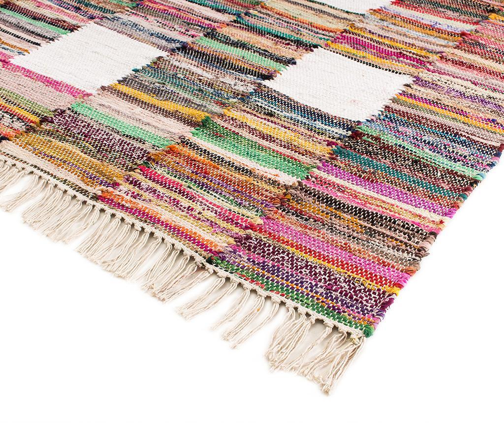 Tepih Boho Chindi Kilim Pattern 120x180 cm