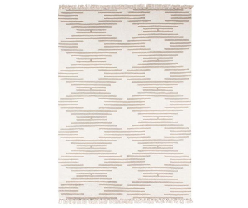 Preproga Vardo Kilim White Sand 120x180 cm