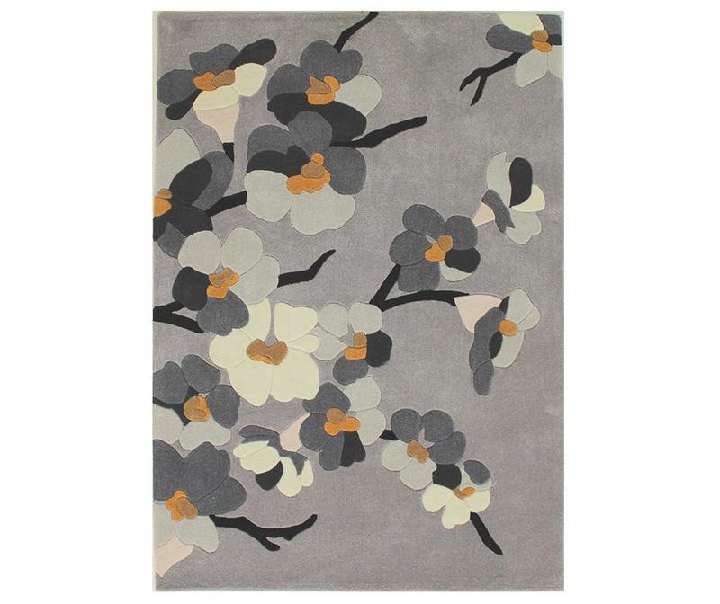 Tepih Blosson Grey 160x230 cm