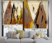 Set 2 rolo zaves Yellow Mountain 100x200 cm