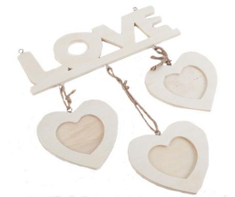 Ramka na 3 zdjęcia DIY Natural Love