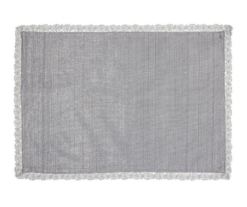 Wilma Grey Tányéralátét 33x48 cm