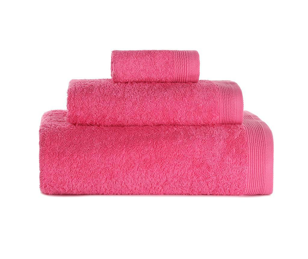 Set 3 kopalniških brisač Delta Fuchsia