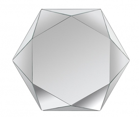 Ogledalo Hexagon Kala