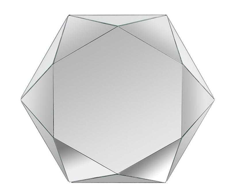 Zrcalo Hexagon Kala