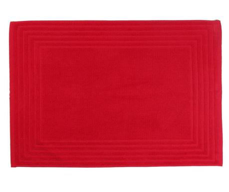 Předložka do koupelny Alfa Red 50x70 cm