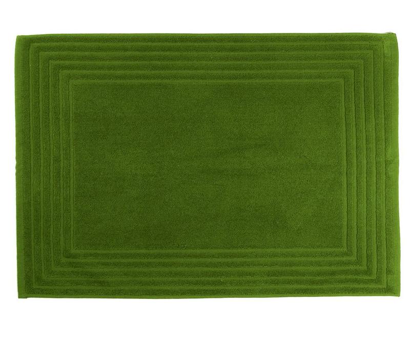 Covoras de baie Alfa Green 50x70 cm