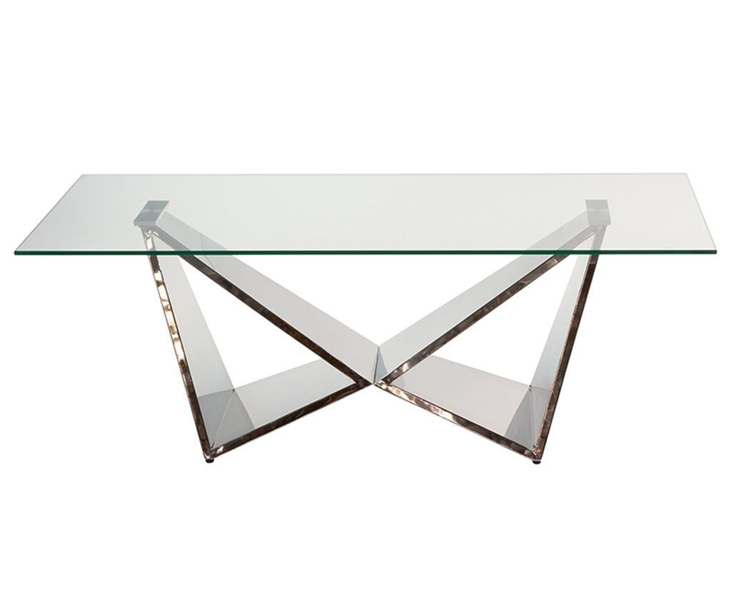 Crystal Pris Dohányzóasztal