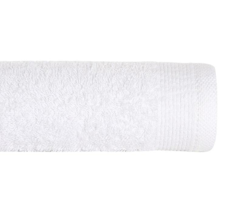Kopalniška brisača Delta White 100x150 cm