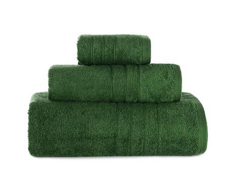 Omega Moss Green 3 db Fürdőszobai törölköző