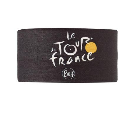 Bandana multifunctionala unisex Buff Le Tour de France Black 24.5x53 cm
