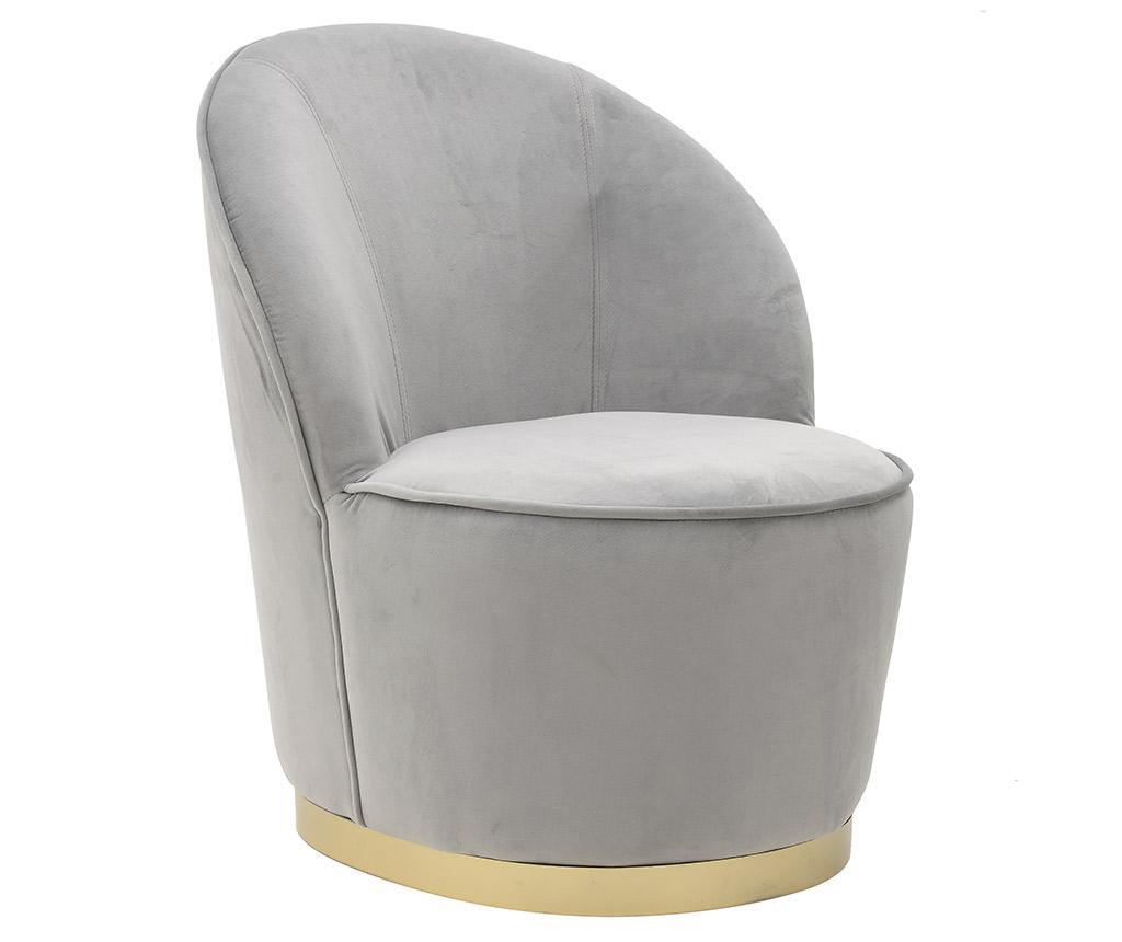 Stol Sansa Grey Golden