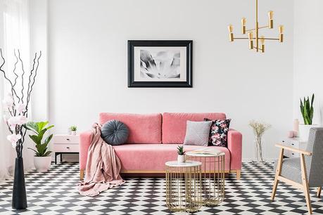 Odtenki roza in sive