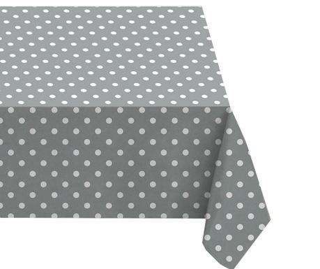 Obrus Grey Polka Dots 132x178 cm
