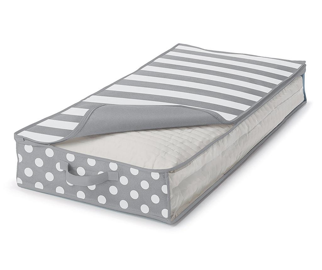 Zaščitna shranjevalna vreča Trend Dots Grey