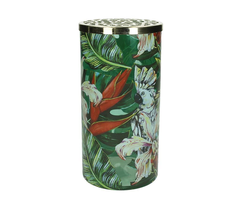 Paco Dekoratív váza fedéllel M