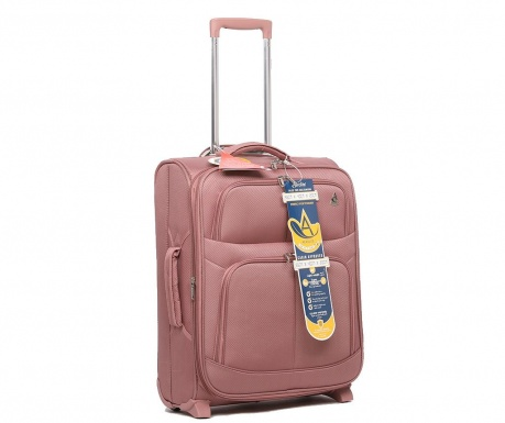 Βαλίτσα τρόλεϊ Edinburgh Expander Rose Gold 42 L