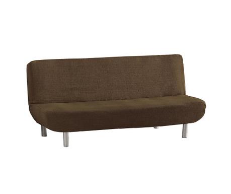 Ελαστικό κάλυμμα καναπέ Aquiles Clic Brown 180-220 cm