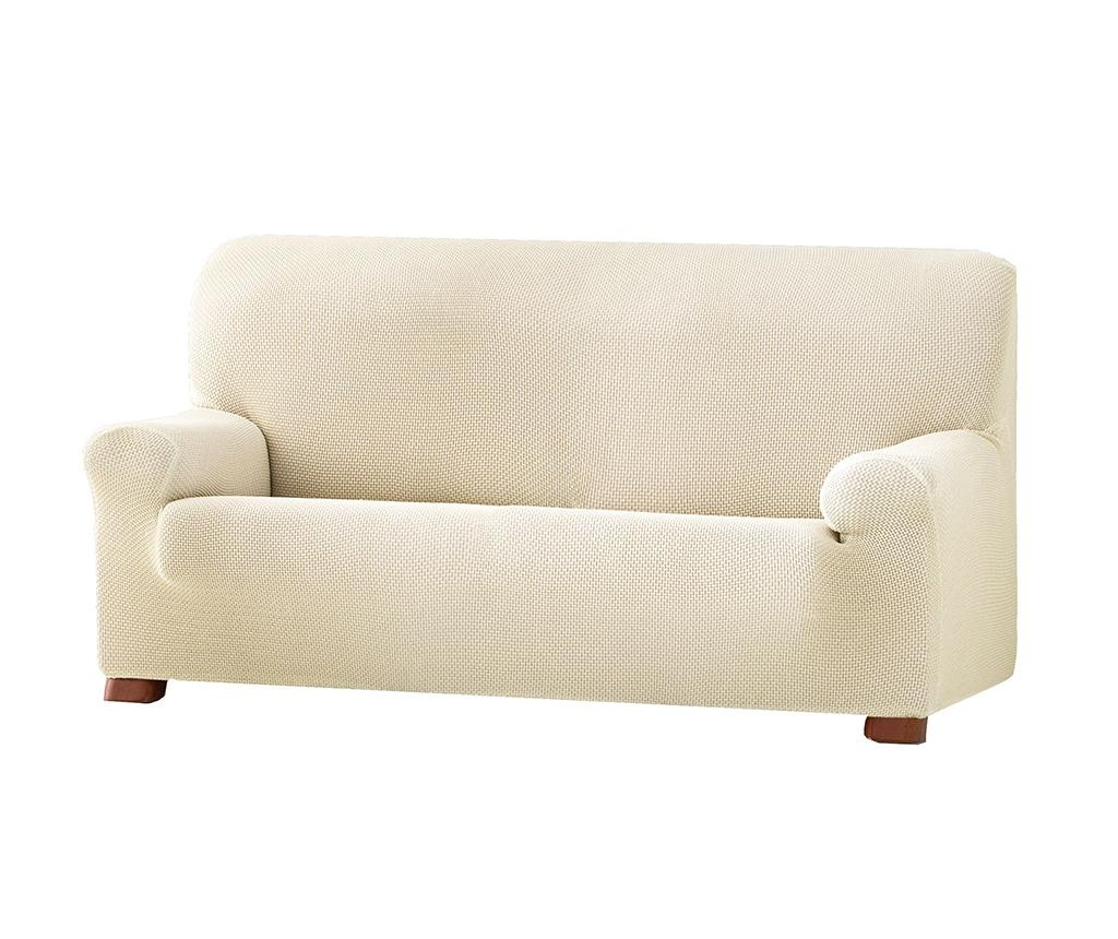 Cora Ecru Elasztikus huzat kanapéra 210-240 cm
