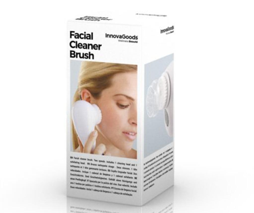 Čistilna krtača za obraz InnovaGoods Facial Cleansing