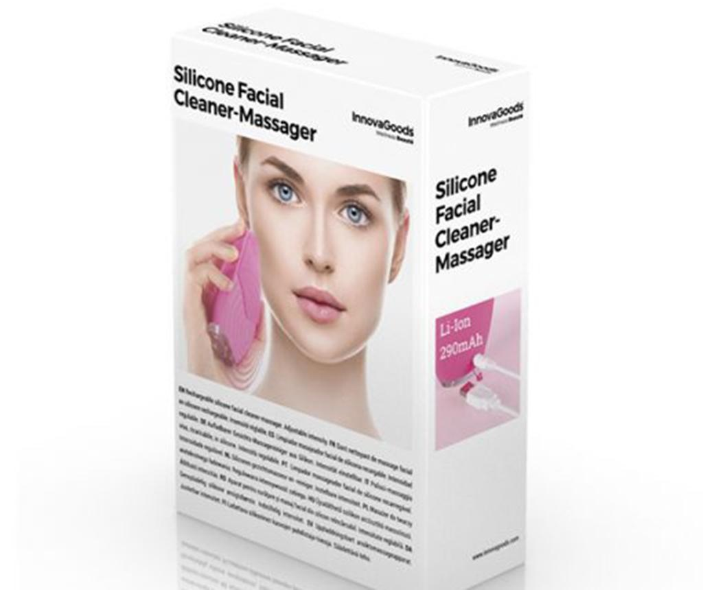Četka za čišćenje lica InnovaGoods Cleanser and Massager
