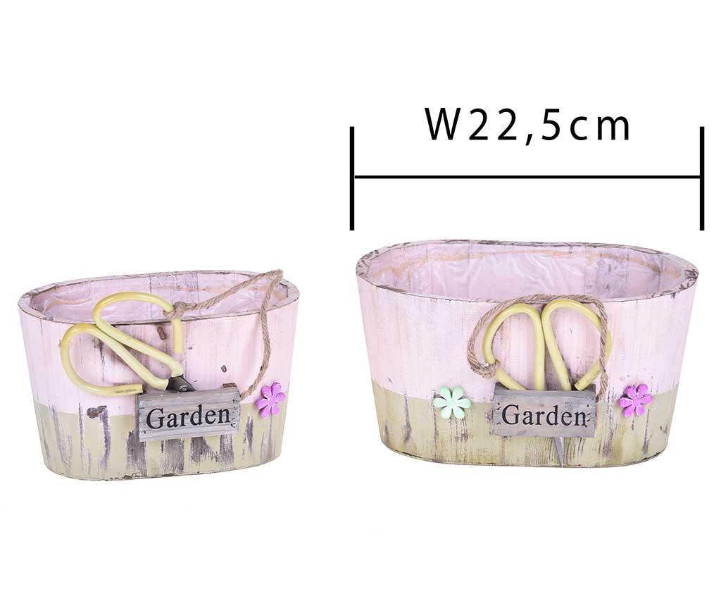 Garden Crafts 2 db Virágkaspó