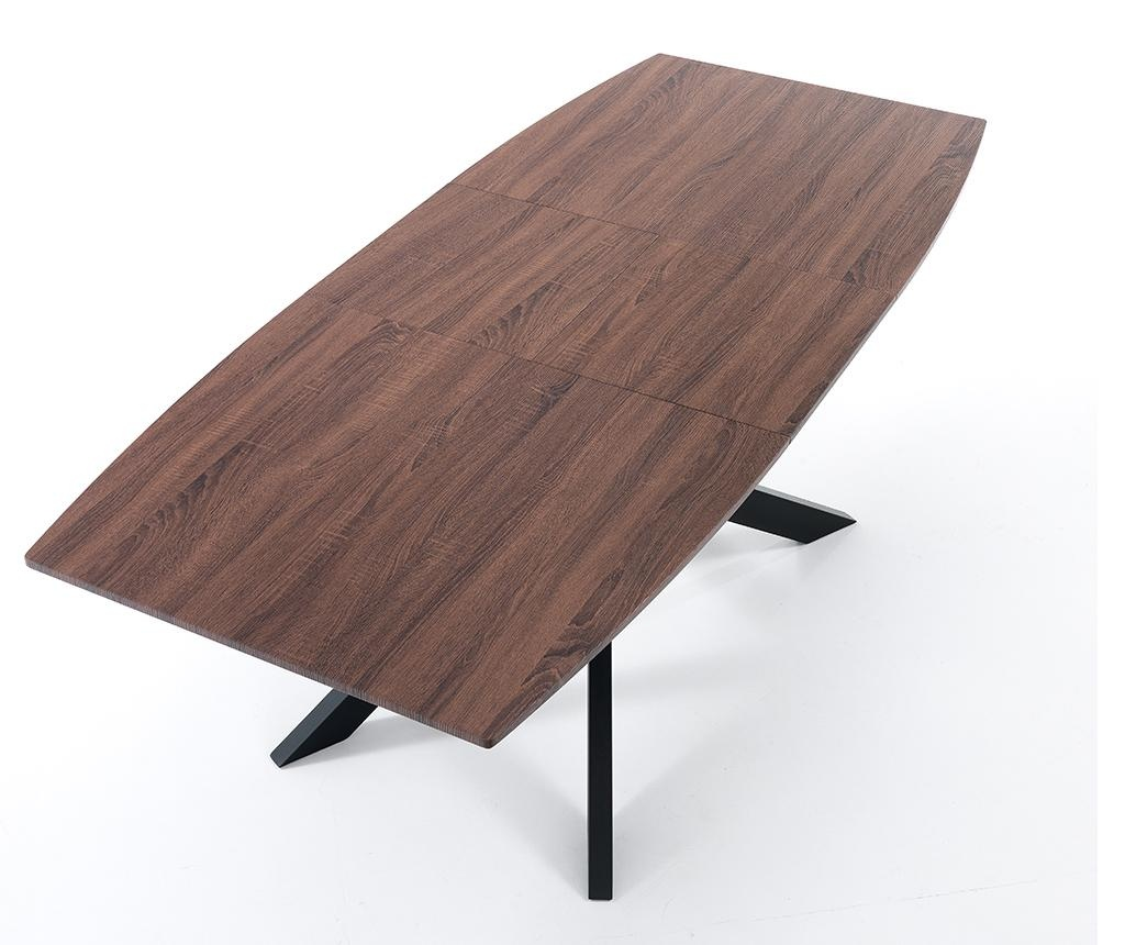 Hics Dark Kihúzható asztal
