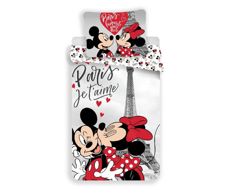 Set de pat Single Ranforce Minnie In Paris