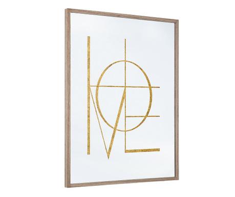 Decoratiune cu oglinda Golden Home