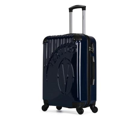 Osaka Navy Gurulós bőrönd 36 L