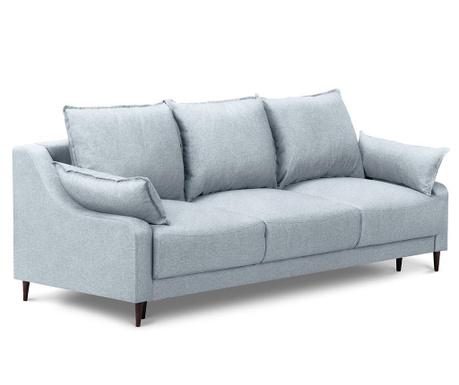 Ancolie Pastel Blue Háromszemélyes kihúzható kanapé