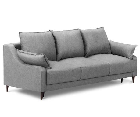 Ancolie Grey Háromszemélyes kihúzható kanapé