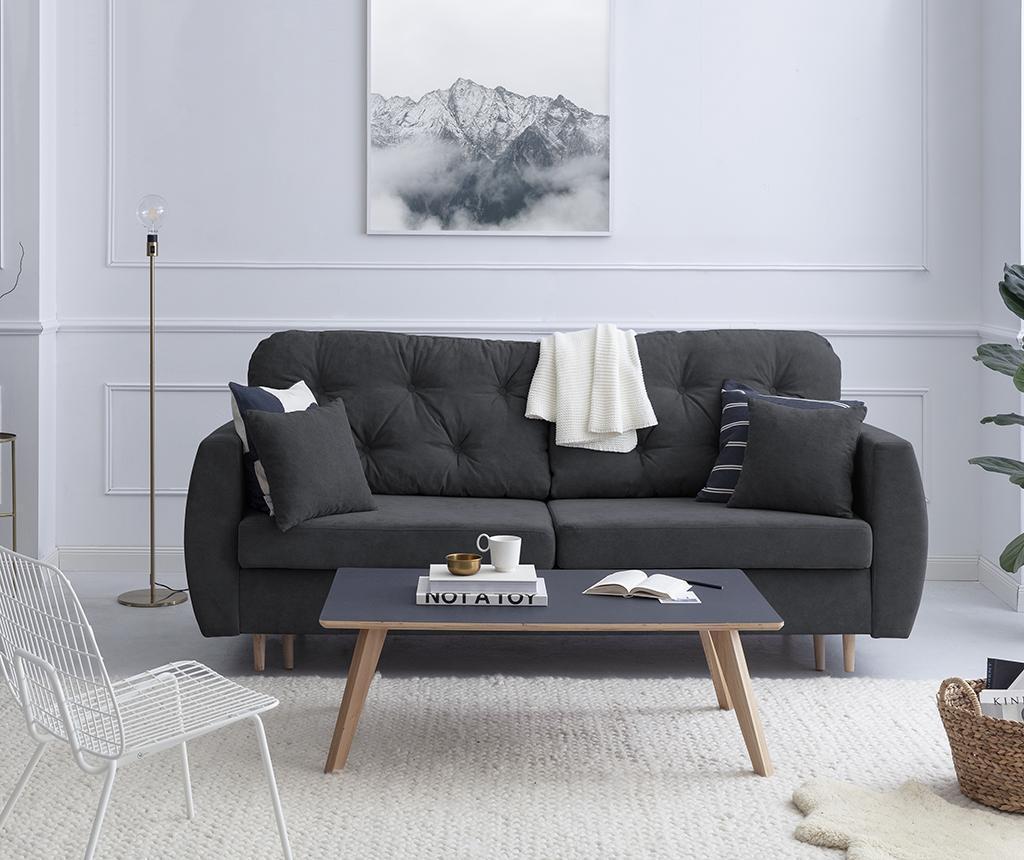 Kauč trosjed na razvlačenje Orchid Dark Grey