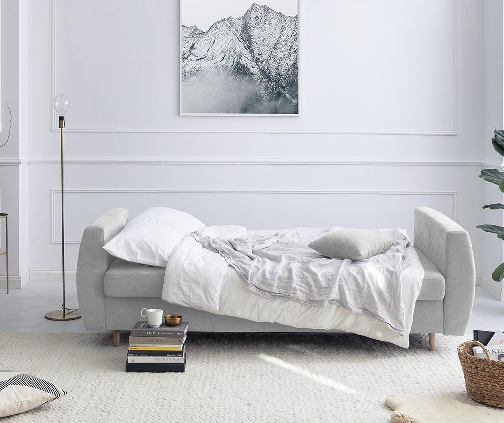 Kauč trosjed na razvlačenje Orchid Silver