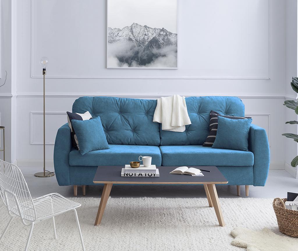 Kauč trosjed na razvlačenje Orchid Blue