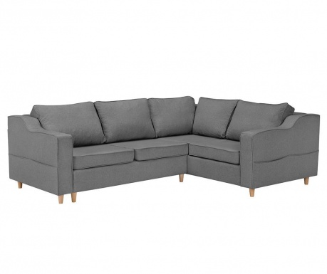 Coltar extensibil dreapta Jonquille Dark Grey