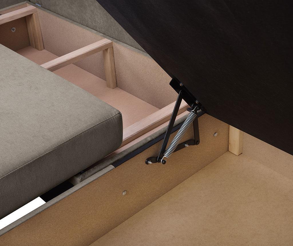 Reverzibilna in raztegljiva kotna sedežna garnitura Dover Cappuccino