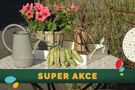 SUPER AKCE: Zahrada a exteriér