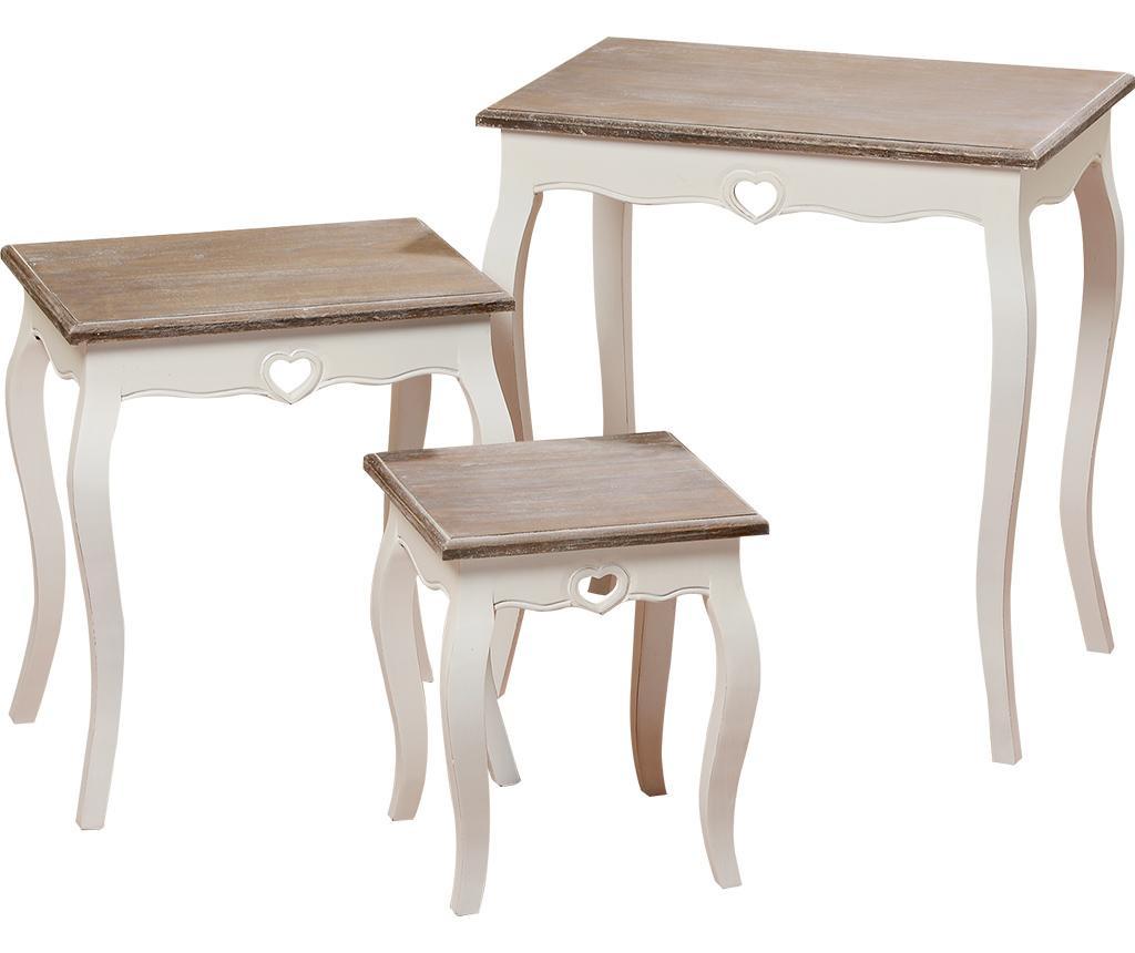Set 3 stolića Hendrik