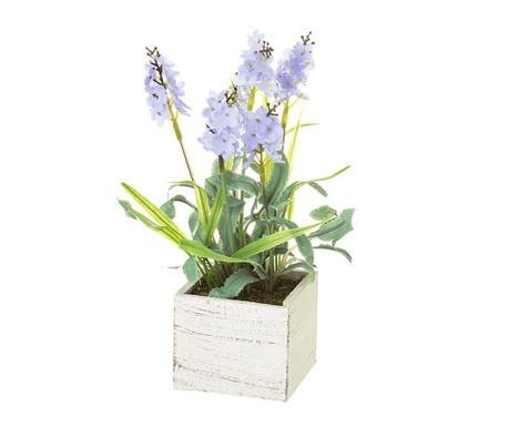 Umelá rastlina v kvetináči Lavander Square Blue
