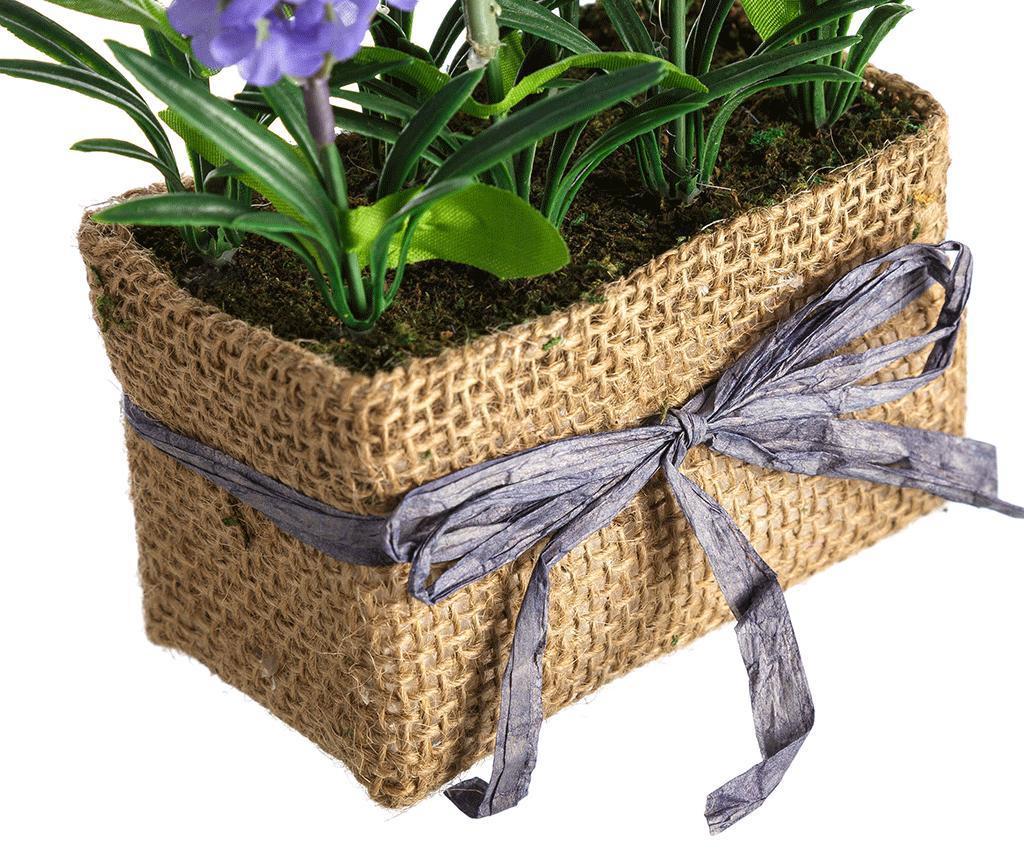 Planta artificiala in ghiveci Lavander Flowers Purple