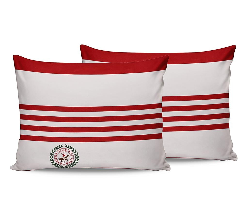 Set 2 fete de perna Red Polo 50x70 cm
