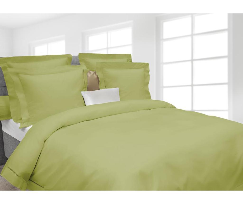 Спален комплект Double Percale Extra Feline Green Oasis