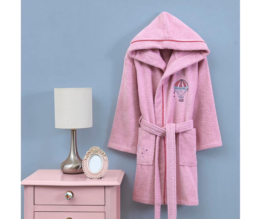 Dječji kupaonski ogrtač Montgo Pink 7-8 ani