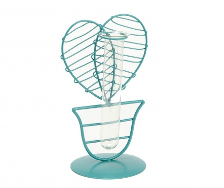 Dekorace s vázou Coeur