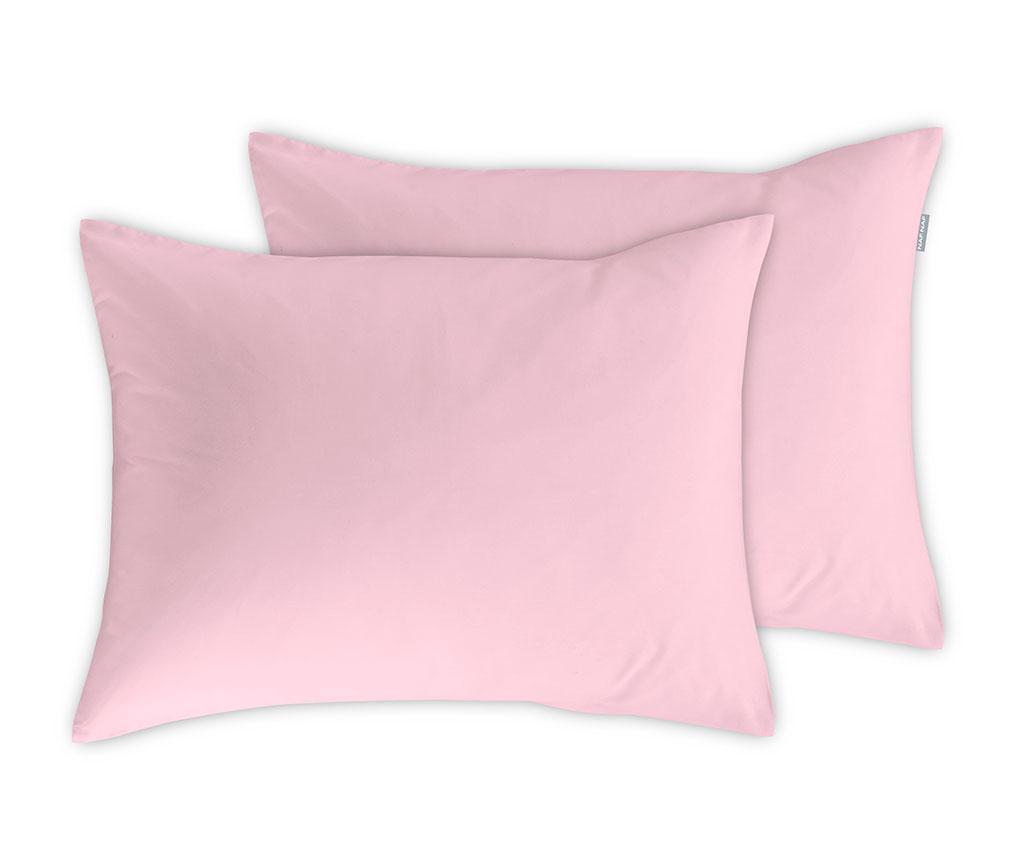 Set 2 jastučnice Casual Pink 65x65 cm