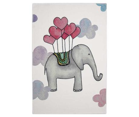 Covor Flying Elephant 100x150 cm