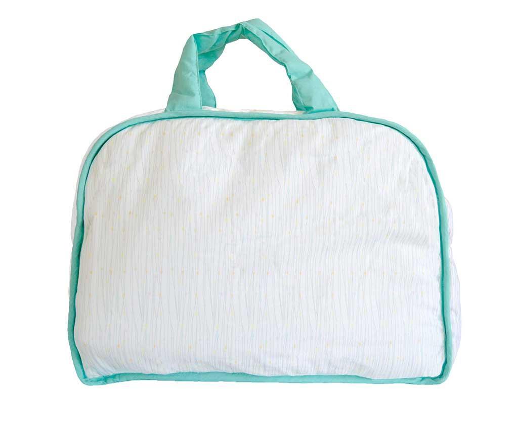Set torba i sklopivi madrac za mijenjanje pelena Happy Hipo